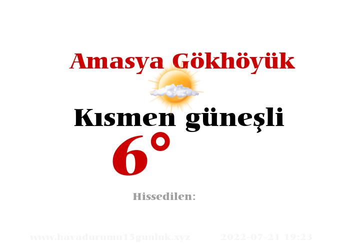 amasya-gokhoyuk hava durumu