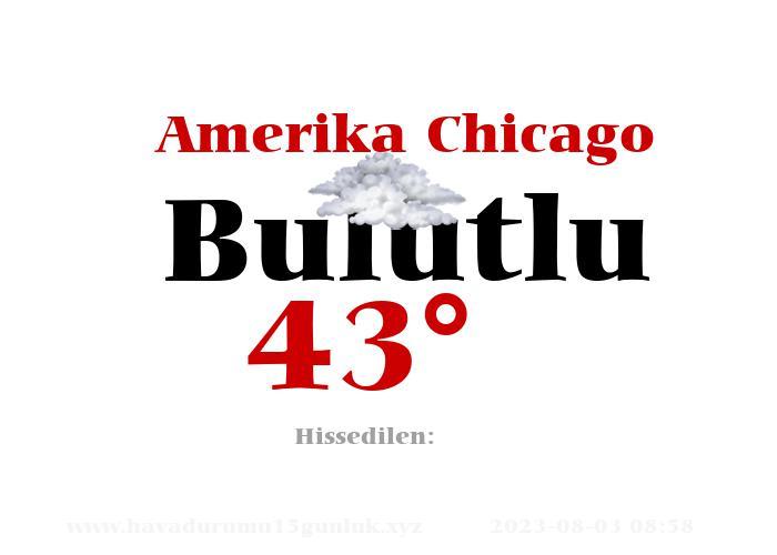 Amerika Chicago Hava Durumu