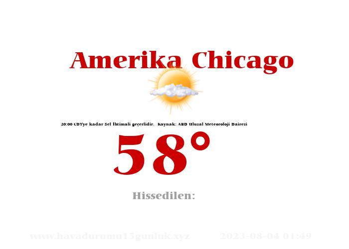 amerika-chicago hava durumu
