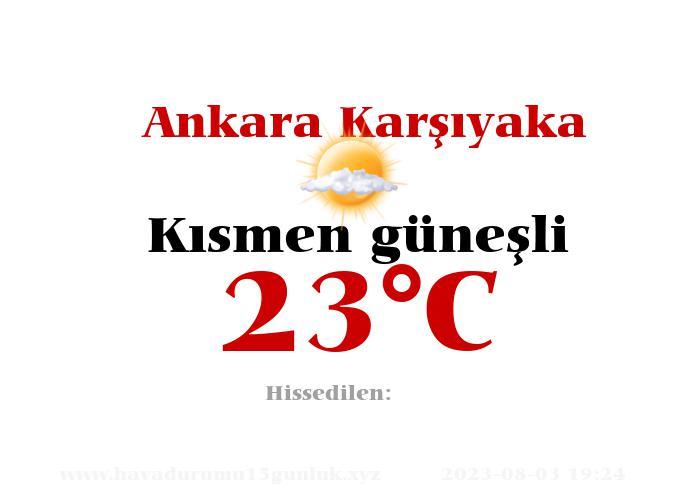 Hava Durumu Ankara Karşıyaka