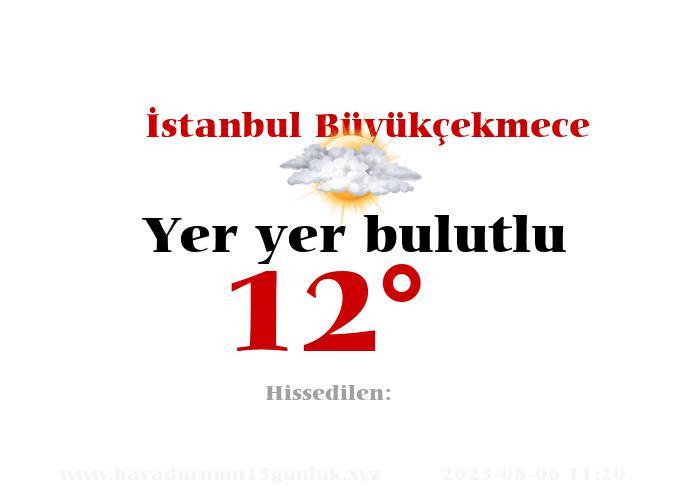 İstanbul Büyükçekmece Hava Durumu