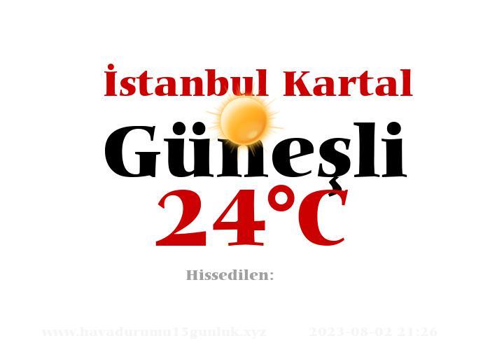 Hava Durumu İstanbul Kartal