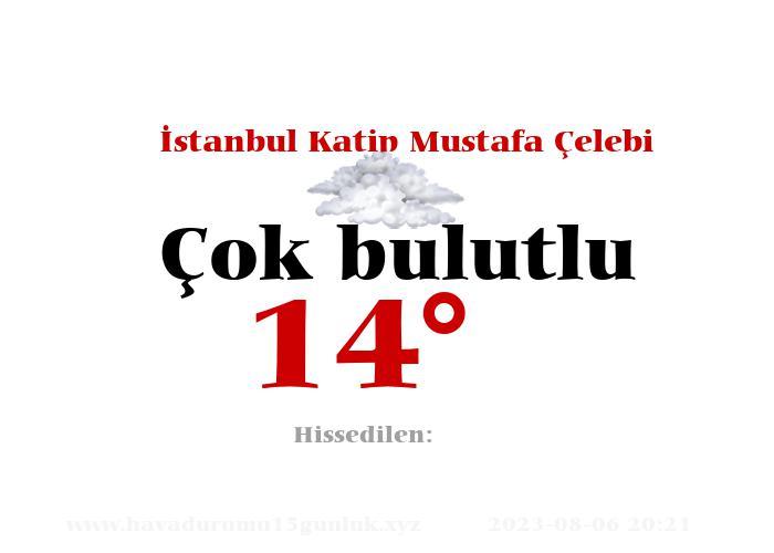 İstanbul Katip Mustafa Çelebi Hava Durumu
