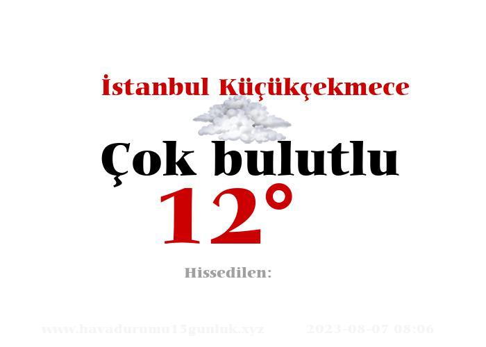 istanbul-kucukcekmece hava durumu