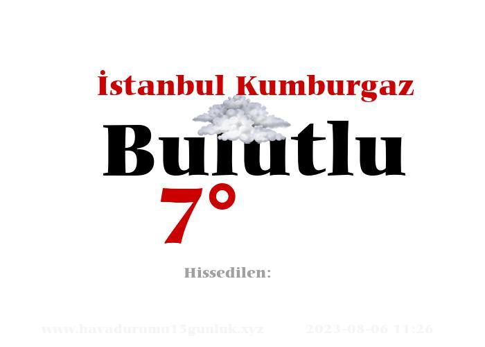 İstanbul Kumburgaz Hava Durumu