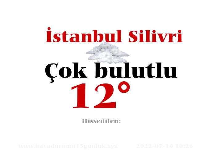 istanbul-silivri hava durumu