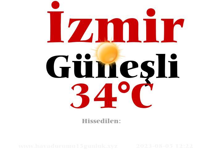 Hava Durumu İzmir