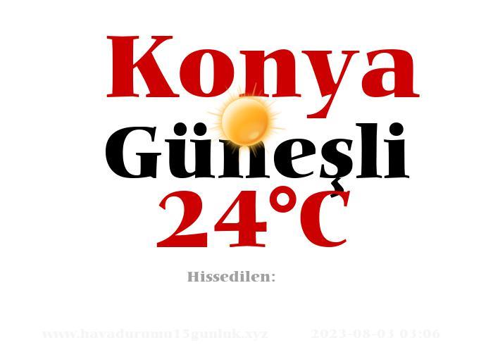 Hava Durumu Konya