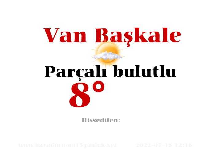 van-baskale hava durumu