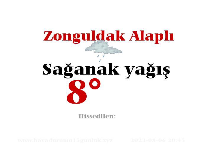 Zonguldak Alaplı Hava Durumu